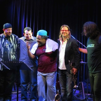 Jeff Lorber Fusion mit Jimmy Haslip, Poogie Bell, Bob Francscini